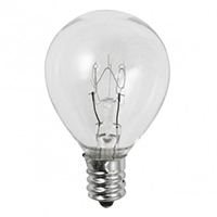 NORMAN LAMPS S11 10W  130V E17 CLEAR