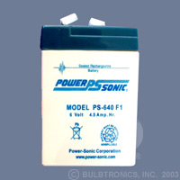 POWER-SONIC PS-640 F