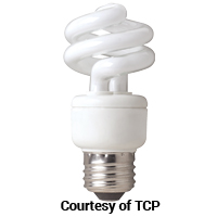TCP 19W MINI SPIRAL SPRINGLIGHT 27K