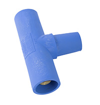 MARINCO POWER PRODUCTS CL/CLS/CLM PARALLELING T ADAPTER (M-M-F) - BLUE (D)