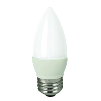 TCP LED 5W E26 27K DECO FROSTED