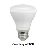 TCP DIMMABLE 7W SMOOTH R20 2700K  575L 50W EQUAL