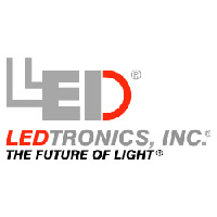 LEDTRONICS LED CHANDELIER BULB, BENT TIP, DIMMABLE, 5W, 50W EQUAL
