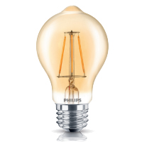 PHILIPS 4.5A19B/LEDFILAMENT/822/CL-A/DIM 120V 350L 2000K