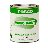 ROSCO VIDEO PAINT CHROMA KEY GREEN #5711 5GAL
