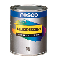 ROSCO FLUORESCENT PAINT WHITE #5779 1QT