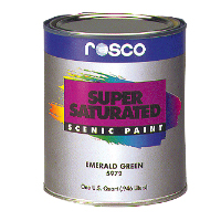 ROSCO SUPERSATURATED ROSCOPAINT BURNT UMBER #5985 1QT