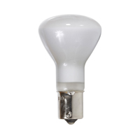 NORMAN LAMPS R12 REFLECTOR LIGHT BULB, BA15S, 13V, 20W, FLOOD