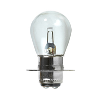 NORMAN LAMPS S8 MINIATURE BULB, DOUBLE CONTACT PREFOCUS, 6.5V, 2.75A