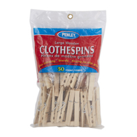 GENERIC BRAND CLOTHES PINS 50 PACK