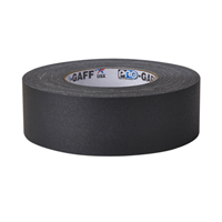 "PROTAPES PRO GAFFER 2"" BLACK 55 YARDS"