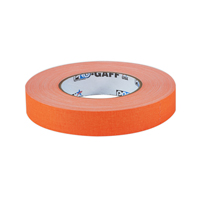 "PROTAPES PRO GAFFER 1"" FLRS ORANGE"