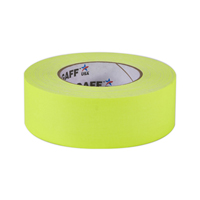 "PROTAPES PRO-GAFFER 2"" FLRS-YELLOW"