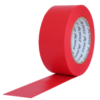 "PROTAPES CONSOLE TAPE 2"" RED FLATBACK"