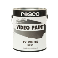 ROSCO VIDEO PAINT TV WHITE #5735 1GAL
