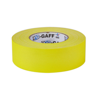 "PROTAPES PRO-GAFFER 2"" YELLOW"