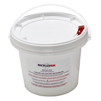 VEOLIA 1 GALLON DRY CELL BATTERY RECYCLING KIT