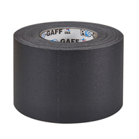 "PROTAPES PRO GAFFER 4"" BLACK 55 YARDS"