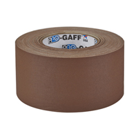 "PROTAPES PRO GAFFER 3"" BROWN"