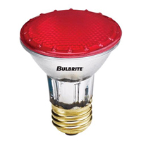 BULBRITE H50PAR20/RED/120V