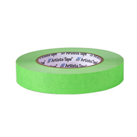 "PROTAPES CONSOLE TAPE 1/2"" FLRS-GREEN"