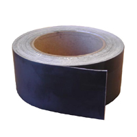 "GAM PRODUCTS BLACKWRAP TAPE 2"" X 80'"