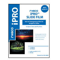 ROSCO IPRO® SLIDE FILM - 10 SHEET PACK (LTR SIZE)