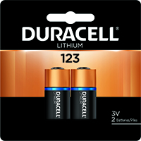 DURACELL DL123AB2PK