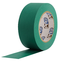 "PROTAPES MASKING TAPE PRO46 1"" DARK GREEN"