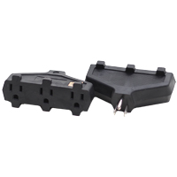 MILSPEC TRIPLE TAP BLOCK ADAPTER BLACK