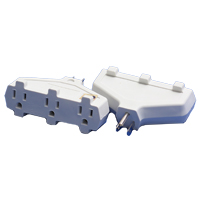 MILSPEC TRIPLE TAP BLOCK ADAPTER WHITE