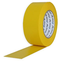 "PROTAPES CONSOLE TAPE 1"" YELLOW FLATBACK"