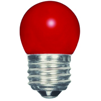 SATCO 1.2W S11/RED/LED/120V/CD