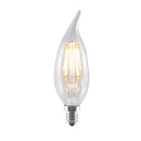 BULBRITE LED2CA10/27K/FIL/E12 190L 2700K 25W EQUAL
