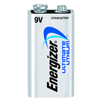 ENERGIZER L522 ULTIMATE LITHIUM 9V BATTERY