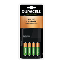 DURACELL CEF14 ION SPEED 1000 W/ 4 AA NIMH BATTERIES