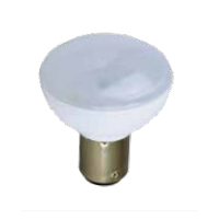 TCP 2W GBF ELEVATOR LAMP - 2700K, FROSTED