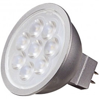SATCO 6.5MR16/LED/25'/40K/12V 500L 4000K 25DEG