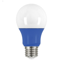 SATCO 2A19/LED/BLUE/120V 200L