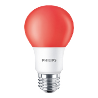 PHILIPS BC8A19/LED/RED/ND