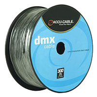 ACCU CABLE AC3PDMX300 3PIN DMX CABLE 300'
