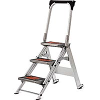 LITTLE GIANT SAFETY STEP ALUMINUM 3'