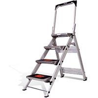 LITTLE GIANT SAFETY STEP ALUMINUM 4'