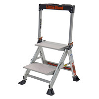 LITTLE GIANT JUMBO STEP ALUMINUM 2'