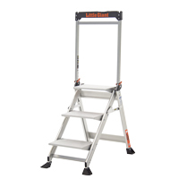 LITTLE GIANT JUMBO STEP ALUMINUM 3'