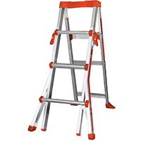 LITTLE GIANT QUICKSTEP ALUMINUM 4'-6'