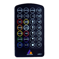 ASTERA LED INFRARED REMOTE CONTROL