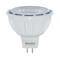 BULBRITE LED8MR16NF25/50/827/D 570L 2700K 25DEG 50 EQUAL