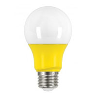 SATCO 2A19/LED/YELLOW/120V  200L