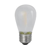 BULBRITE LED1S14/27K/FIL/F 55L 2700K 11W EQUAL